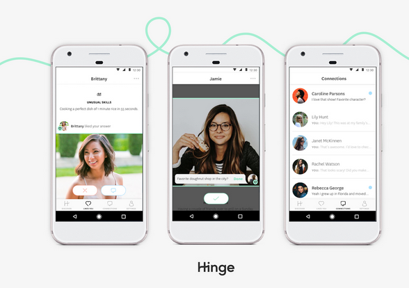 hinge dating app download Get the latest version of the hinge app for your android or iphone mobile device read our review and learn why it's a must for online dating.