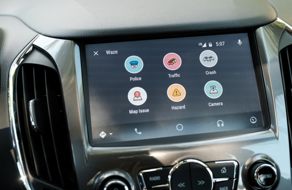 waze now available on android auto. Black Bedroom Furniture Sets. Home Design Ideas