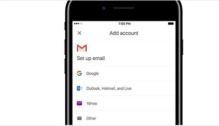 Gmail iOS App Testing Third-Party Email Accounts