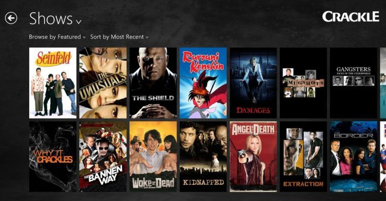 You Can Watch Television Shows Too Including The Shield Seinfeld And Blue Mountain State There Are Also Animated Movies Available In Crackle