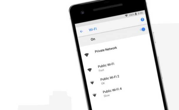 Android 8.1 Will Show the Connection Speed of Public Wi-Fi Networks